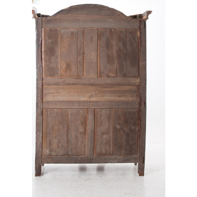 French Early 19th Century Painted Cherry Armoire - Image 9 of 10