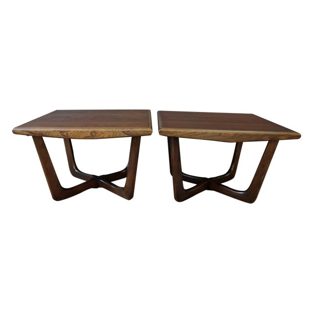 Pair of Adrian Pearsall Side Tables - Image 1 of 5