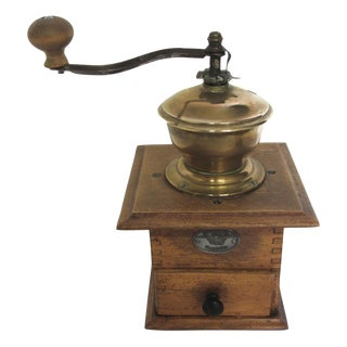 Antique German Coffee Grinder