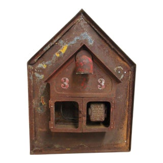 Antique Original Fire Alarm Call Box