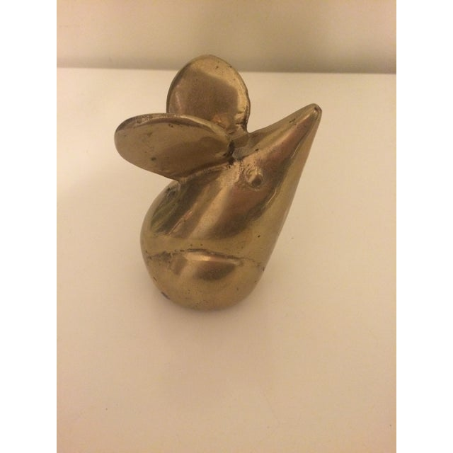 Image of Vintage Brass Mouse