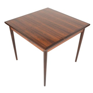 Bazilian Rosewood Square Dining Table