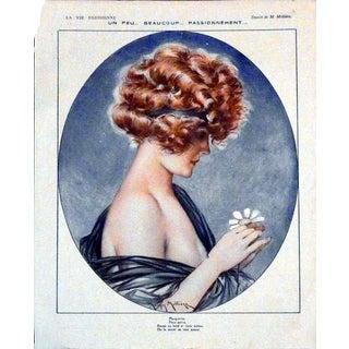 """1921 """"Un peu... Beaucoup... Passionnément"""" Print by Maurice Millière"""