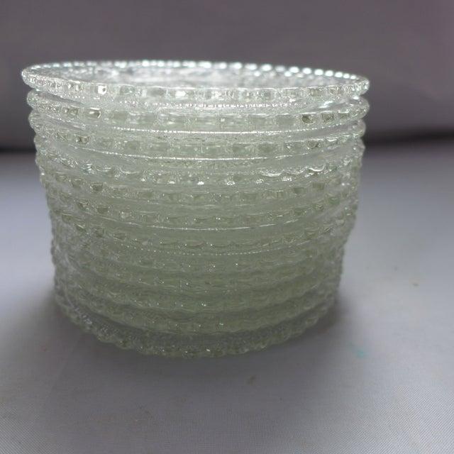 Vintage Press Glass Butter Pats Set Of 12 Chairish