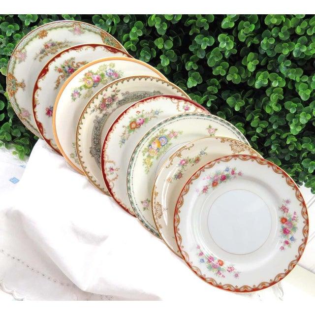Mismatched Vintage Dessert Plates - Set of 8 - Image 2 of 11