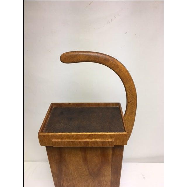 Danish Mid Century Modern Telephone Table Chairish