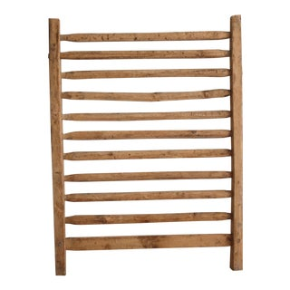 Vintage Wood Barn Ladder