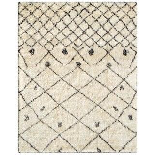 "Moroccan Lamb's Wool Rug- 6' X 9 2"""