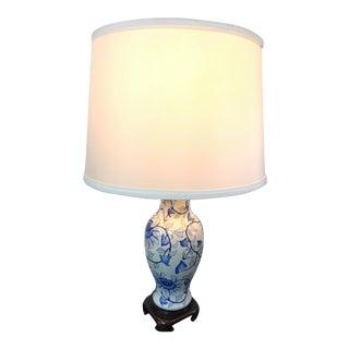 Blue & White Chinese Lamp