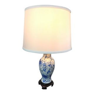 Blue & White Chinese Lamp