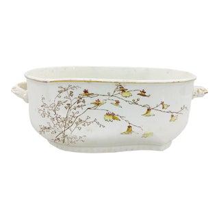 Antique Porcelain Toureen Cache Pot