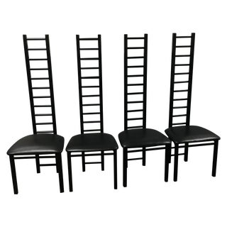 Lee Industries Ladder Back Chairs - Set of 4