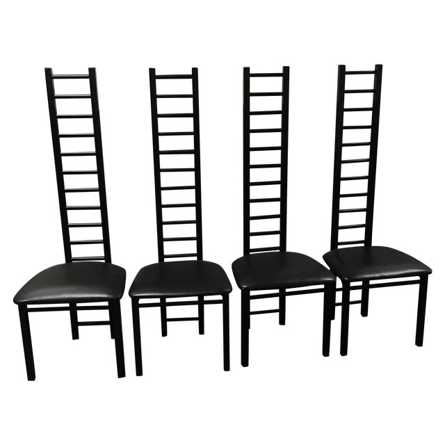 Lee Industries Ladder Back Chairs - Set of 4 - Image 1 of 8