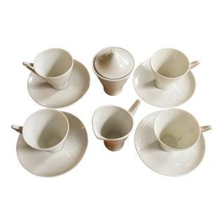Alka Kunst Bavaria Mid-Century Coffee Set - Set of 4