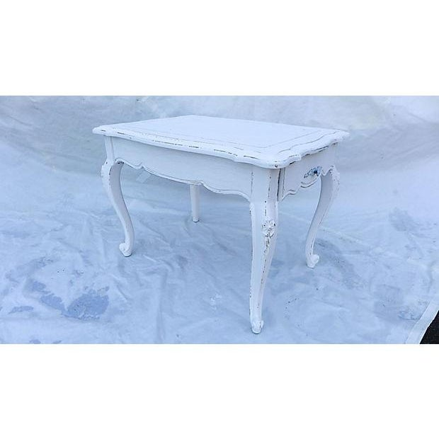 Image of French Cottage Style Side Table