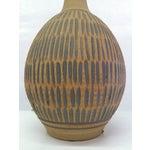 Image of Earthy Wishon-Harrell Ceramic Table Lamp