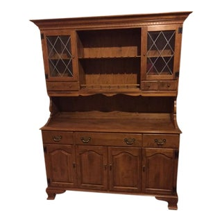 Ethan Allen Hutch - 2 Pieces