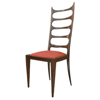 Paolo Buffa Attributed High Back Chair