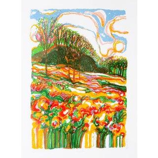 "R. Julius Christensen, ""Spring Fever,"" Lithograph"