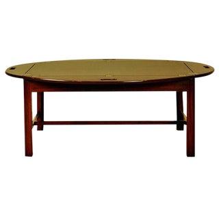 Mahogany Butler's Tray Coffee Table