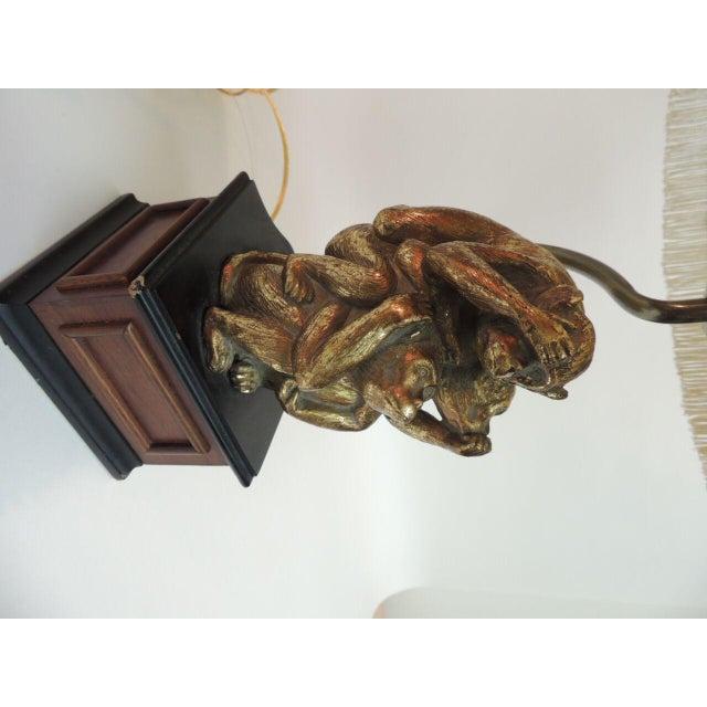 Vintage Monkeys Table Lamp - Image 6 of 7
