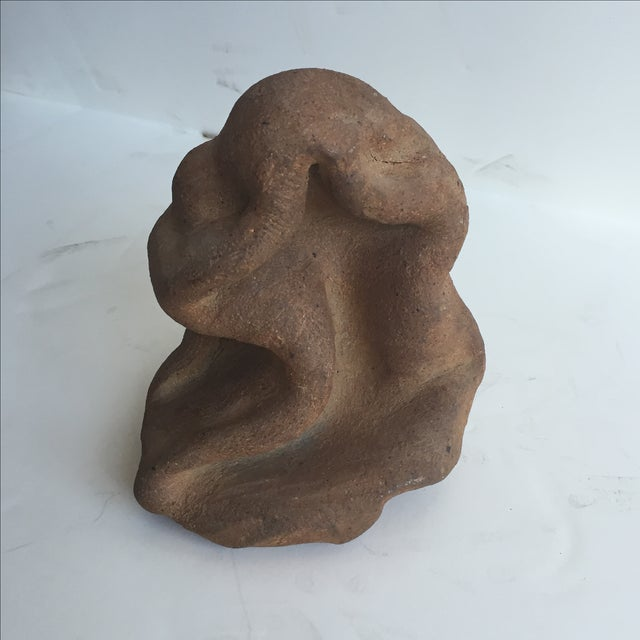 Terracotta Free-Form Sculpture - Image 9 of 9