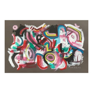 Playful Abstract Painting by Jessalin Beutler
