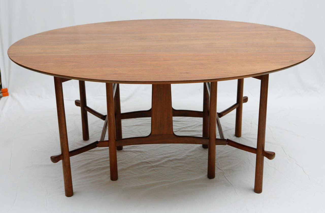 Heritage Henredon Gateleg Table   Image 2 Of 10