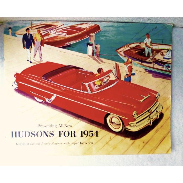 1954 Hudson Car 16-Page Brochure - Image 2 of 7