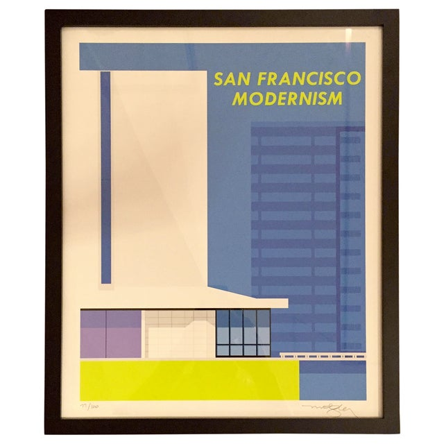 San Francisco Modernism- Print Only - Image 1 of 4