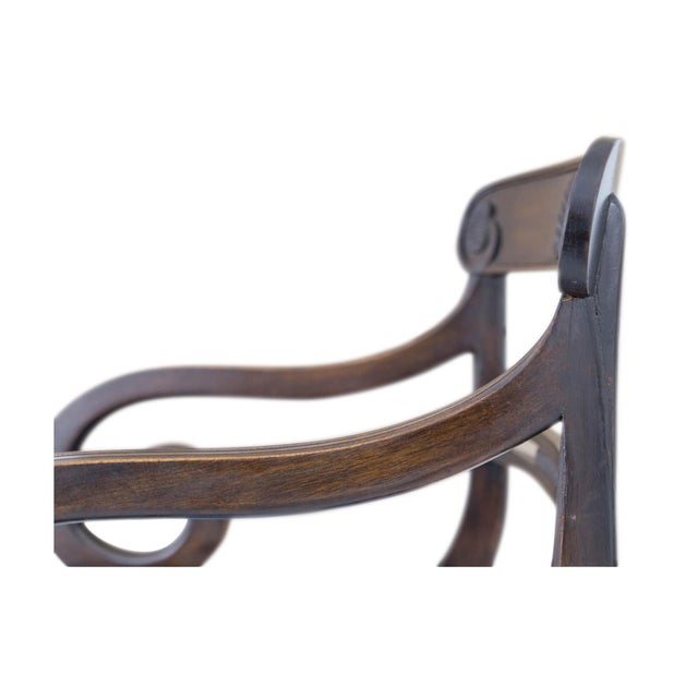 English Regency Carved Armchairs - A Pair - Image 7 of 10