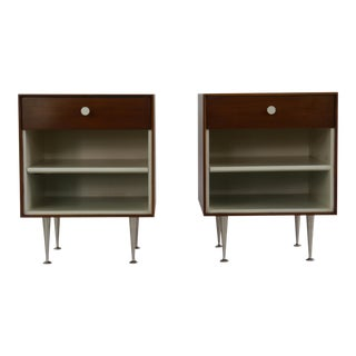 Thin-edge Nightstands by George Nelson for Herman Miller