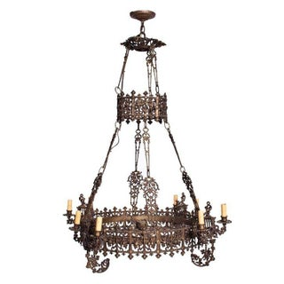 A Circa 1840 Ornate French Chandelier
