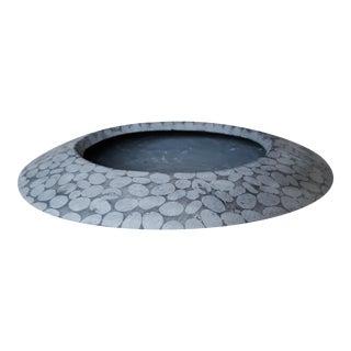 Modern Low Vase or Decorative Bowl