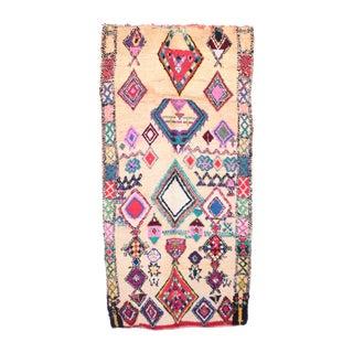 """Vintage Boujad Moroccan Rug - 5'5"""" x 9'7"""""""
