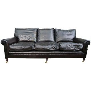 George Smith Leather Signature Sofa
