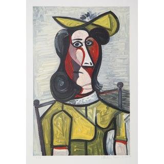 Pablo Picasso 'Femme Au Chapeau' Lithograph