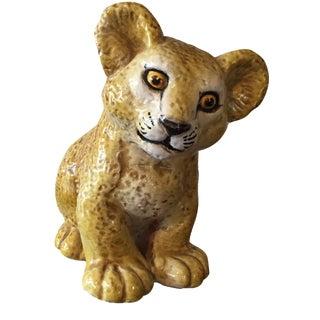 Mid Century Italian Lion Cub