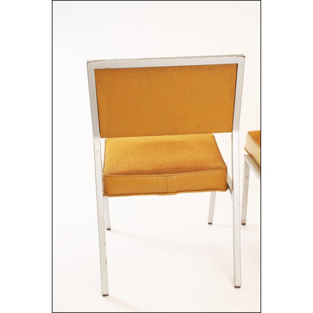 Mid Century Modern Steelcase Aluminum Office Chairs A