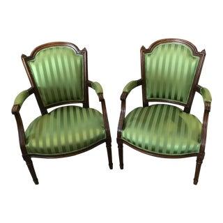 Emerald Fauteuils - Pair