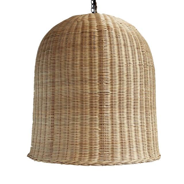 Bell Raw Wicker Lantern XL - Image 1 of 3
