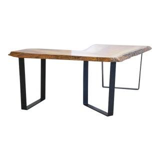 "Modern ""l"" Shaped Desk"