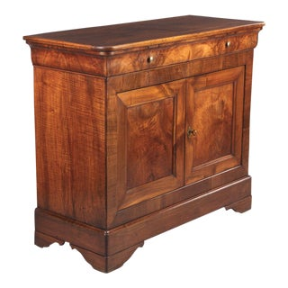Louis Philippe Walnut Buffet, Mid 1800s