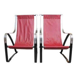 McKay Furniture Corp. Vintage Art Deco Lounge Chairs - A Pair