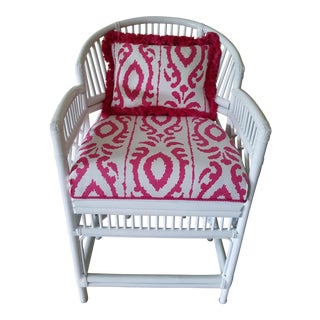 Brighton Style Chippendale Bamboo Side Chair