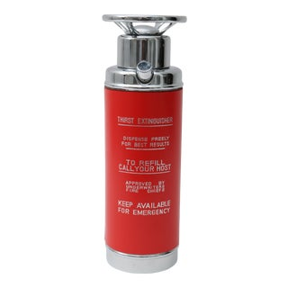 Novelty Fire Extinguisher Decanter
