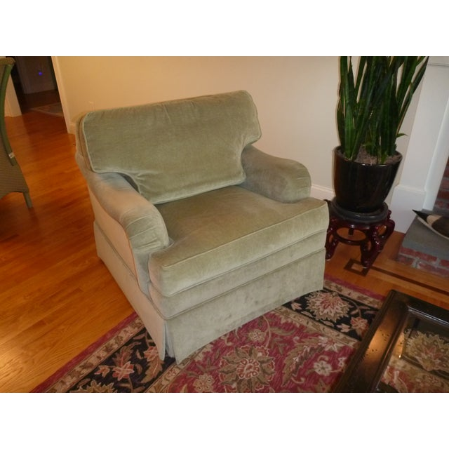 Ethan Allen Sage Arm Chair - Image 2 of 5