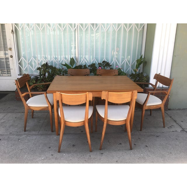 Kipp Stewart for Drexel set of 8 Dining Chairs - Image 11 of 11