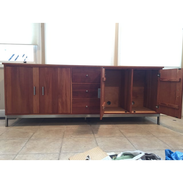 Room & Board Cherry Wood Custom Credenza - Image 10 of 10