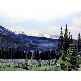 'Rocky Mountain National Park. Colorado' Painting